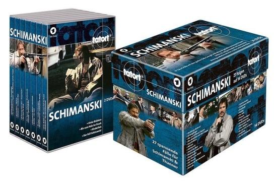 Schimanski, 14 DVD s díly Místo činu Dusiburg